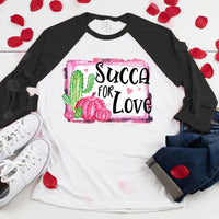 Succa For Love Sublimation Transfer