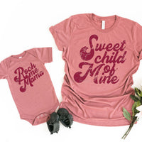 Sweet Child Of Mine Screen Print Heat Transfer