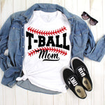 T-Ball Mom Sublimation Transfer