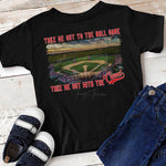 Take Me Out To The Ball Game Small Town YOUTH Field SHIPS 2/18 Screen Print Heat Transfer