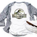 Teaching Is A Walk In The Park Camo Print Sublimation Transfer