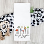 Every Little Thing Tea Towel Screen Print Heat Transfers