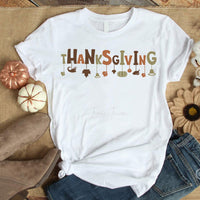 Thanksgiving word art dangle Sublimation Transfer