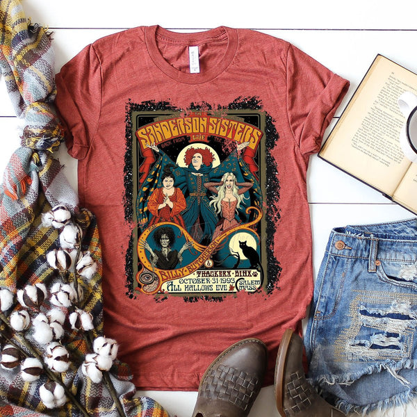 Vintage Sanderson Sisters Screen Print Heat Transfer
