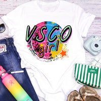 VSCO Girl Pop art Retro Vintage Sublimation Transfer