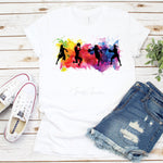 Watercolor basketball Silhouette Sublimation Transfer