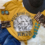 What Would Dolly Do Screen Print Heat Transfer