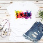 Watercolor Yoga Silhouette Sublimation Transfer