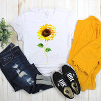 Your Are My Sunshine Sunflower With Skulls Sublimation Transfer