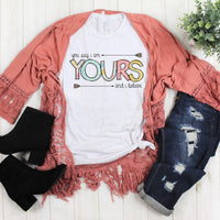 You Say I am Yours and I believe Sublimation Transfer