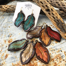 Feather Earrings Medium