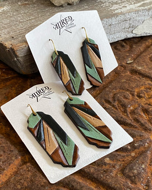 Empire Earrings Large