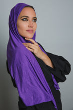 Load image into Gallery viewer, Purple Insta Hijab - LunasEssentials.com