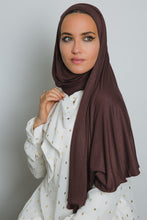 Load image into Gallery viewer, Brown Insta Hijab - LunasEssentials.com