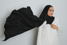 Load image into Gallery viewer, Black Insta Hijab - LunasEssentials.com