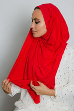 Load image into Gallery viewer, Red Insta Hijab - LunasEssentials.com