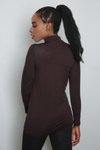 Load image into Gallery viewer, Brown Long Sleeve Top - LunasEssentials.com