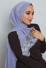 Load image into Gallery viewer, Purple Lace Scarf - LunasEssentials.com