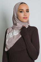 Load image into Gallery viewer, Thistle Jersey Cotton Lace Scarf - LunasEssentials.com