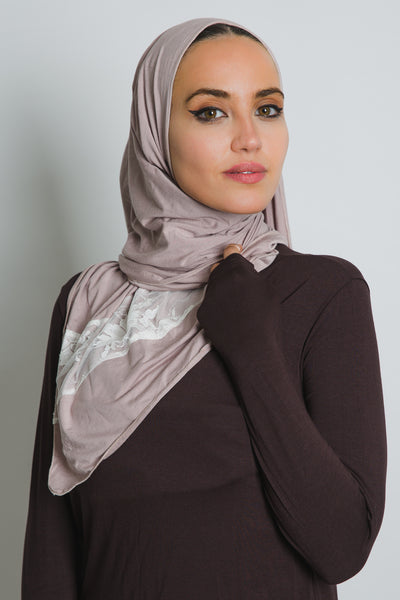 Thistle Jersey Cotton Lace Scarf - LunasEssentials.com