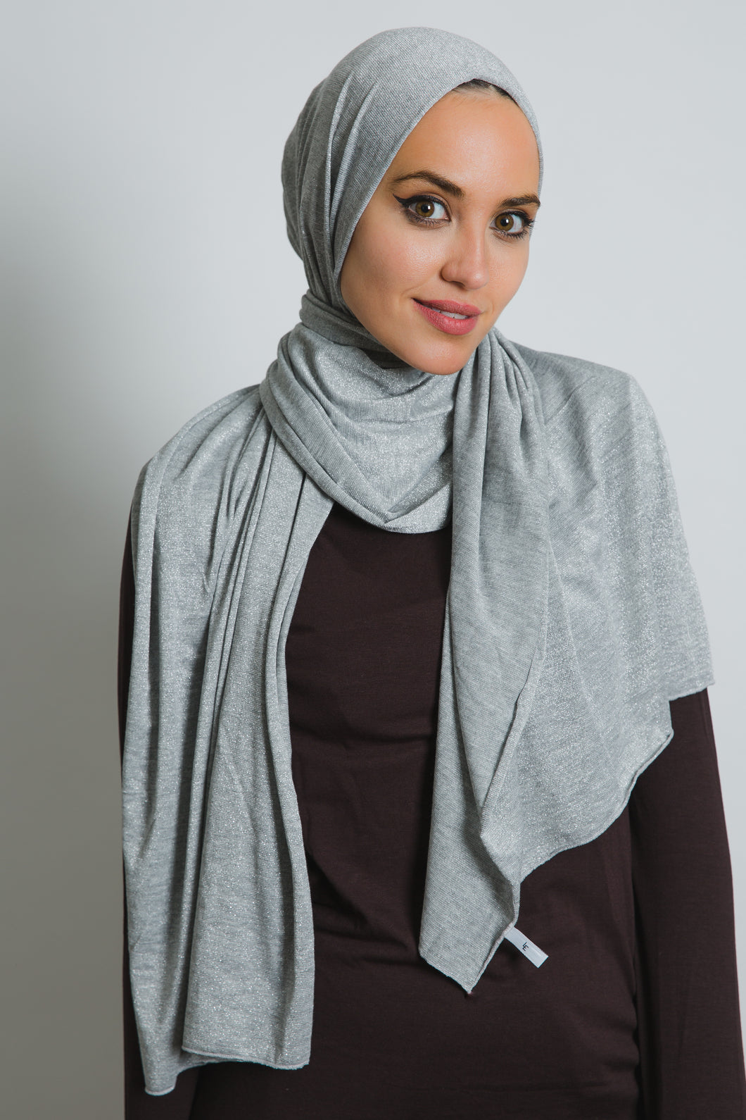 Grey Cotton Spark Scarf - LunasEssentials.com