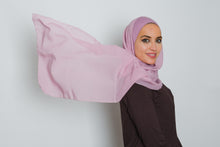 Load image into Gallery viewer, Purple Insta Bonnet Hijab - LunasEssentials.com