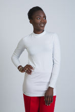Load image into Gallery viewer, White Cotton Long Sleeve Body - LunasEssentials.com