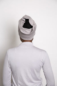 Grey Cotton  Underscarf - LunasEssentials.com