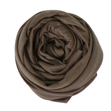 Load image into Gallery viewer, Plain cotton jersey scarf - LunasEssentials.com