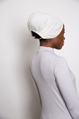 White Cotton Underscarf - LunasEssentials.com