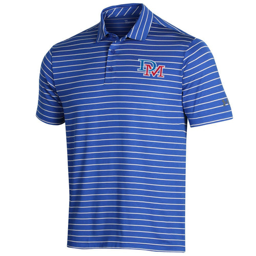 UA Royal Stripe Polo