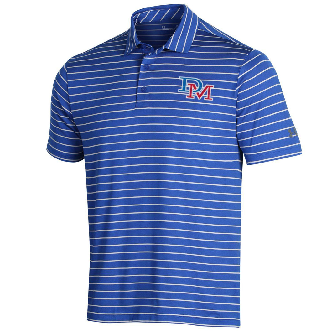 UA M Stripe Polo