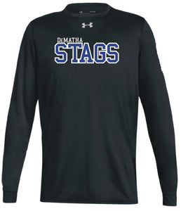 UA Black Stags L/S Tee