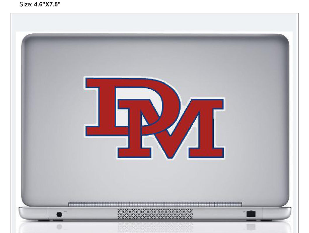 DM Removable Decal