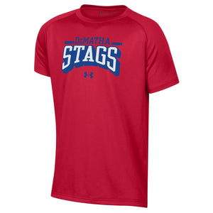 UA Boys Tech Short-Sleeve Tee