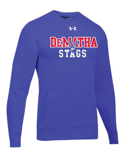UA Hustle Fleece Sweatshirt