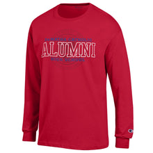 Champion Red Alumni L/S Tee