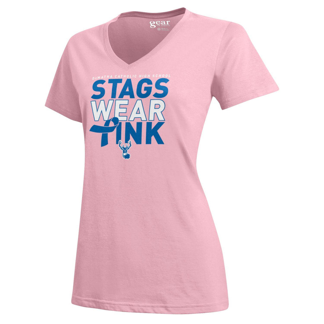 Gear W Pink Stag Tee