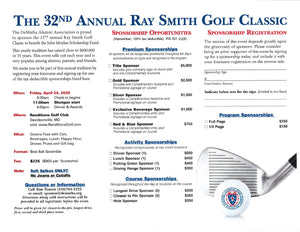 The 32nd Annual Ray Smith Golf Classic **DATE CHANGE**