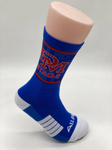 DM Sublimated Socks Royal