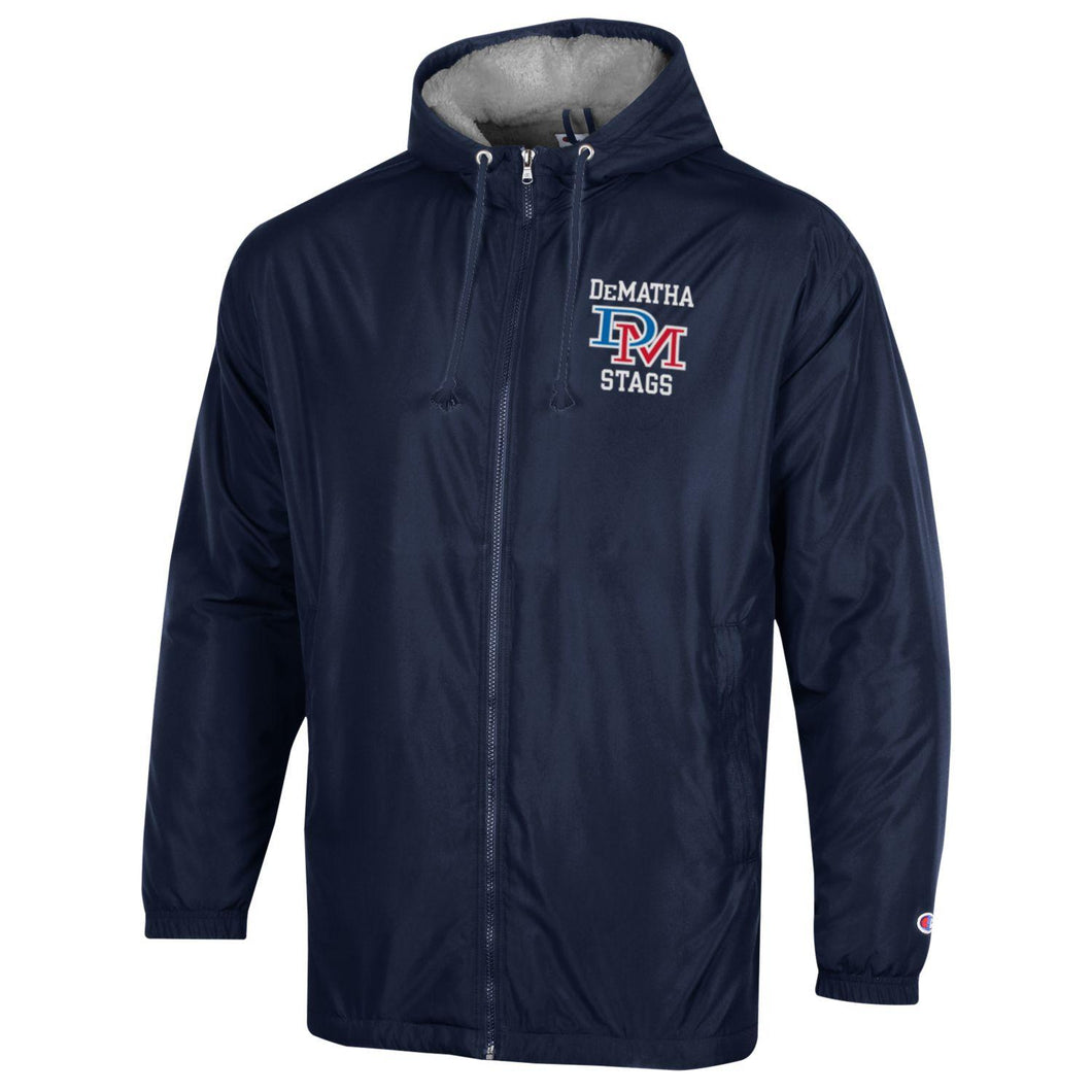 Champion Navy Stadium Jacket