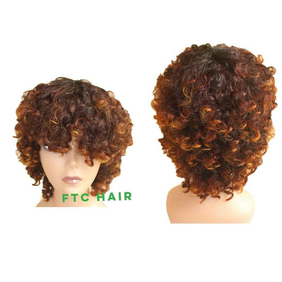 SUPER SOFT CURLY WIG.