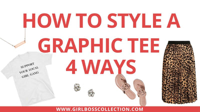How To Style A Graphic Tee 4 Ways