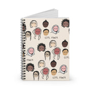 Girl Power Spiral Notebook - Ruled Line