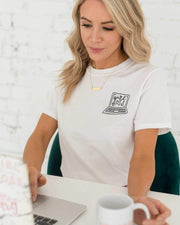 Girl Boss Laptop T-Shirt