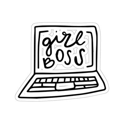 girl boss stickers