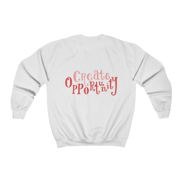 Create Opportunity Sweatshirt, Girl Boss Outfits, Girl Boss Clothing, Entrepreneur Clothing, Boss Lady Clothing, Girl Boss Collection