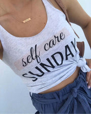Self Care Sunday Tank