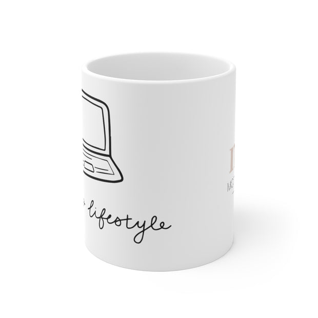 Laptop Lifestyle Coffee Mug