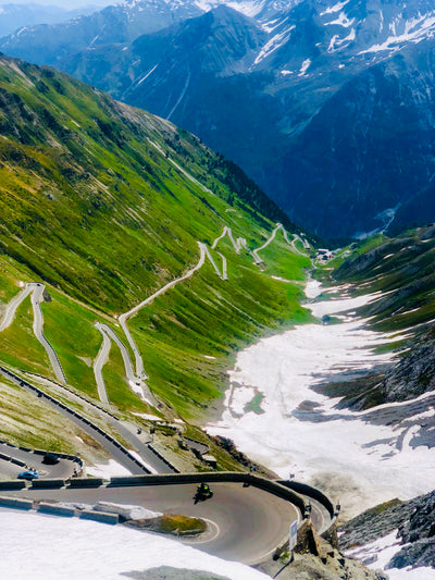 Caffeine and Cycliste -The Iconic Stelvio